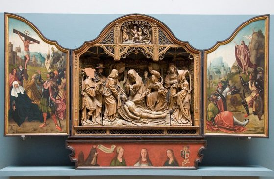 Comparison altarpiece by another artists