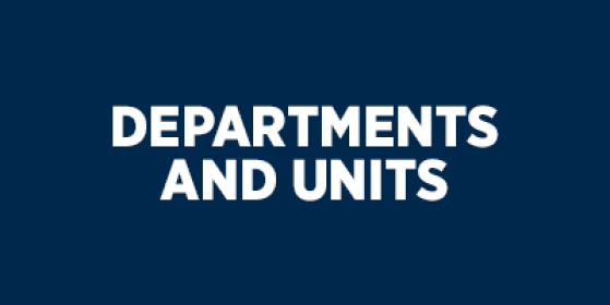 Departments and Units