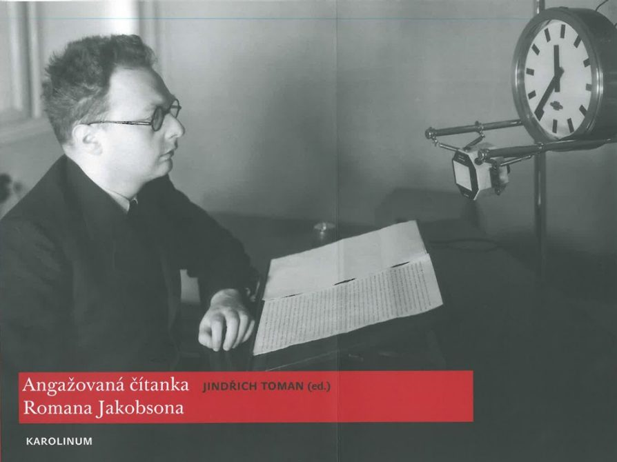 cover of Jindra Toman's Roman Jacobson anthology