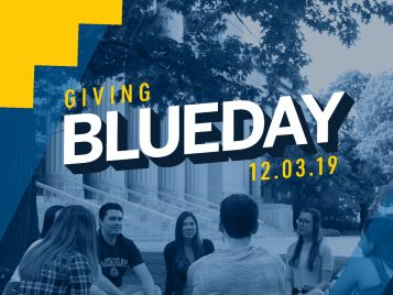 giving blueday 2019 logo