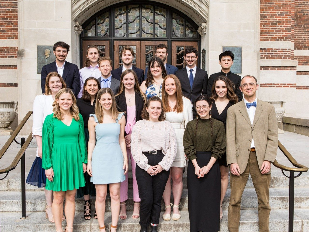 Class of 2019 History Honors students.