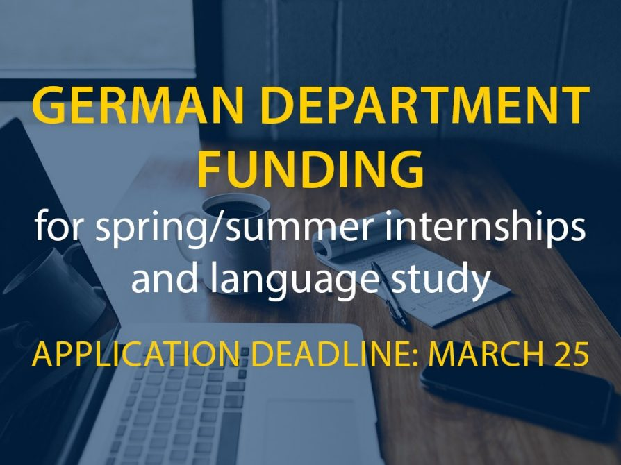 funding for internships and language study