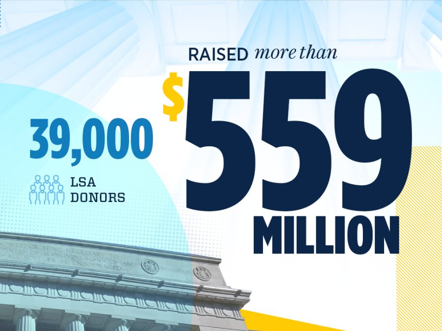 39,000 LSA donors raised more than $559 million