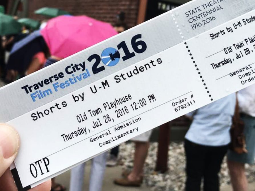 A ticket to U-M student film shorts